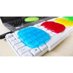 Hình ảnh Keo dẻo lăn bụi vệ sinh bàn phím máy tính laptop ( gói 80gr )