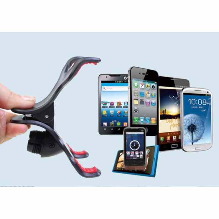 Kẹp điện thoại xoay 360 độ dùng trên xe hơi
