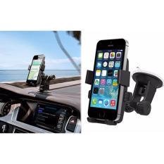 Hình ảnh Kẹp giá đỡ giữ điện thoại gắn vào ô tô 360