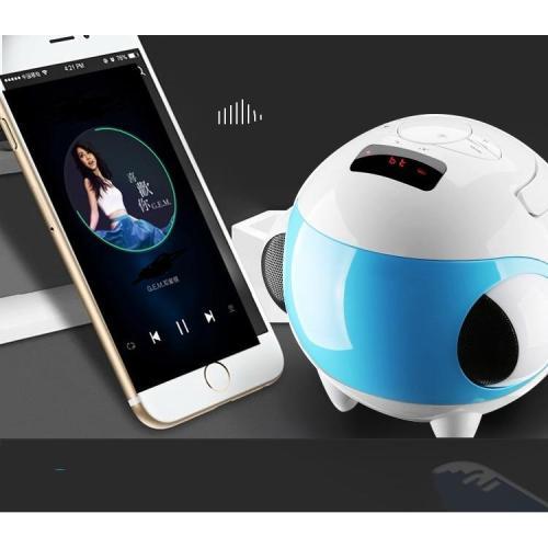 Kết Nối Bluetooth Laptop Với Loa, Loa Bluetooth Chất Lượng Cao, Loa Vitinh  - Loa Bluetooth Sub Bas Q99 Hình Cầu Đẹp, Giá Tốt - Loa