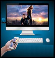 Hình ảnh Ket noi dien thoai voi tivi qua wifi - HDMI không dây giá siêu rẻ, BH uy tín