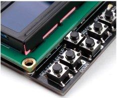 Hình ảnh Bàn phím Chế Chắn Đèn Nền Màu Xanh Cho Arduino Robot LCD 1602 Bản