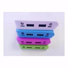 [Mạch Xịn 2.0] - Khung 8 pin sạc dự phòng 30.000mAh dùng pin laptop 18650 (Nhiều màu, chưa pin)