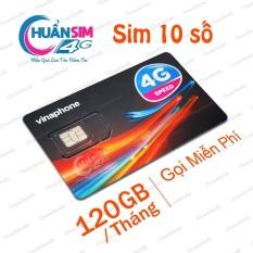[KHỦNG]Sim 4G VinaPhone VD89P - Có 120GB/Tháng - Gọi Miễn Phí