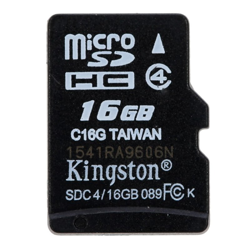 Kingston MicroSDHC TF Flash Memory Card Class 4 16GB - intl