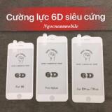 kính cường lực 6D Full màn cho Iphone 6/6S/6P/7/7P/8/8P