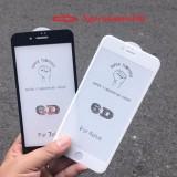 Kính cường lực 6D Full màn cho iphone 6Plus / 6S Plus Trắng.