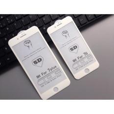 Kính Cường Lực Full Màn 5D cho iPhone 6/6s/6Plus/6sPlus/7/7Pus (TRẮNG)
