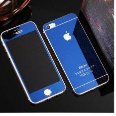 Hình ảnh Kính cường lực gương 2 mặt Glass cho iPhone 5/5S/SE (xanh than)