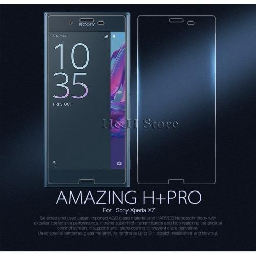 Giá Bán Kinh Cường Lực Nillkin Sony Xperia Xz Nillkin Amazing H Pro Trong Suốt Mới Nhất