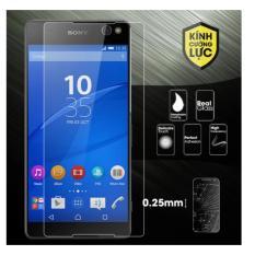 Kính cường lực trong suốt cho điện thoại Sony Xperia C5 Ultra - Hàng nhập khẩu