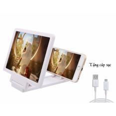Kính Khuếch đại Hình ảnh Cho Smartphone + Tặng 1 Cáp Sạc điện Thoại  Dành Cho Android Với Giá Sốc