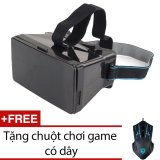 Mua Kinh Thực Tế Ảo 3D Protab Đen Tặng 1 Chuột Chơi Game Co Day Mouse Gaming Sch 02X6 Rẻ