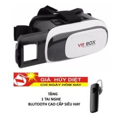 Hình ảnh Kính thực tế ảo TTP - VR BOX 219 + Tặng 1 tai nghe blutooth cao cấp siêu hay
