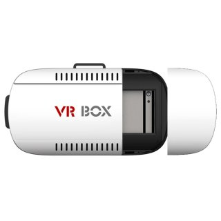 [HCM]Kính thực tế ảo VR Box Xem phim 3D trên Smart Phone (Trắng đen) thumbnail