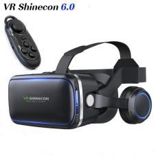 Hình ảnh Kính Thực Tế Ảo VR Shinecon 6.0 tặng tay cầm chơi game bluetooth 3.0
