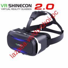 Hình ảnh Kính thực tế ảo VR Shinecon Version 2 tặng tay cầm kính thực tế ảo (dc1233)