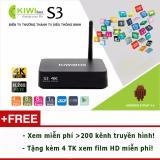 Ôn Tập Kiwi Box S3 Plus Ram 2G Cấu Hinh Cực Khủng Xem 3D 4K Cực Chất Mới Nhất
