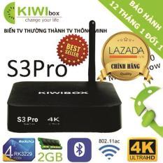 Hình ảnh TIVI BOX KIWI S3 PRO 2018 Chip 4X Ram 2GB Chính hãng