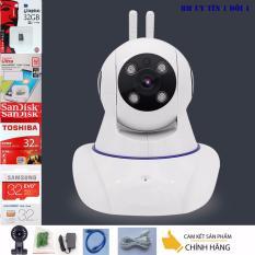 Ôn Tập Trên Lắp Camera Trong Nha Yoosee Wifi Sieu Net Full Hd 1920X1080 Mới Nhất Thẻ Nhớ 32G Class 10 Bh 1 Đổi 1 Tech One