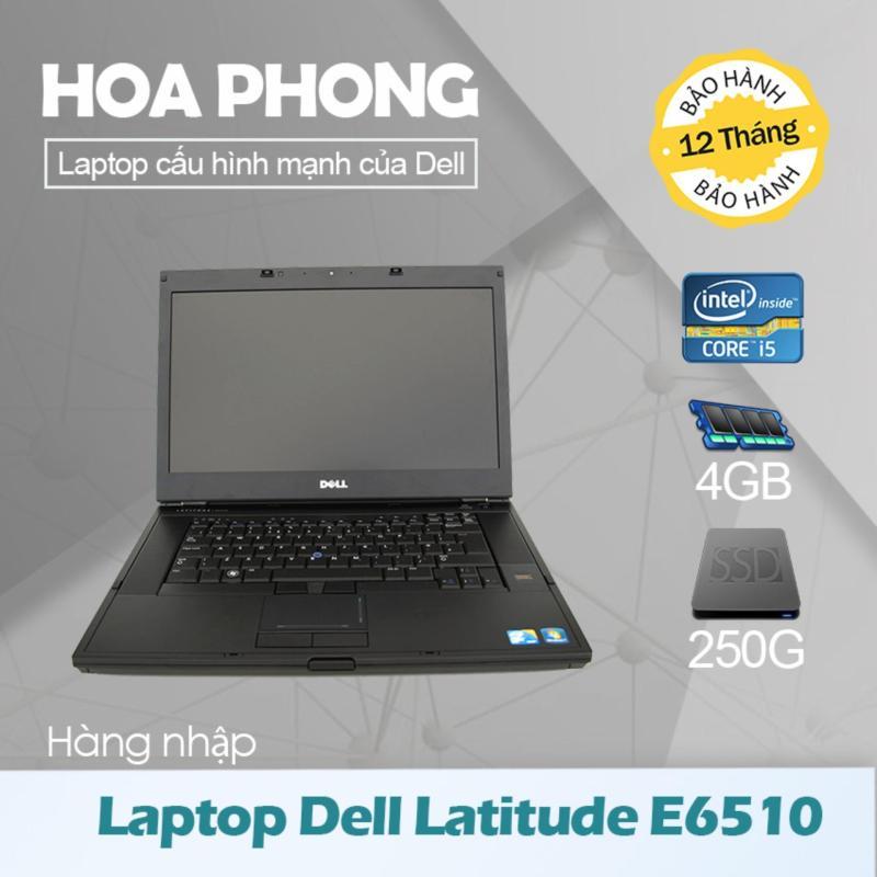 Laptop Dell Latitude E6510 Core i5 540 /4G/HDD 250G/ VGA HD/Màn 15.6inch - Hàng nhập khẩu