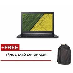Laptop Acer Aspire A315-31-P66L NX.GNTSV.002 N4200/4G/500GB/15.6HD (Đen) + Tặng 1balo laptop ACER - Hãng phân phối chính thức