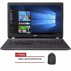 Laptop Acer Aspire E5-575G-39QW NX.GDWSV.005 15.6inch + Tặng 1 Ba lô laptop ACER - Hãng phân phối chính thức (Đen)