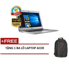 Laptop Acer Swift SF314-52-55UF NX.GQGSV.002 i5-8250U/4G/256GSSD/14FHD/W10Home (Bạc) + Tặng 1balo laptop ACER - Hãng phân phối chính thức