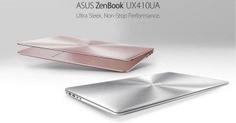 Laptop Asus UX410UA-GV064 i5-7200U R4H500 14'' Vàng Hồng - Hãng Phân phối chính thức