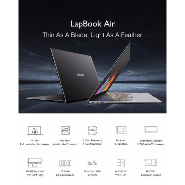 Bảng giá Laptop Chuwi Lapbook Air Phong Vũ