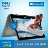 Chiết Khấu Laptop Dell Inspiron 13 5368 I3 6100U 4Gb 500Gb 13 3 Inches Bạc Hang Nhập Khẩu Tặng Tui Xach Có Thương Hiệu
