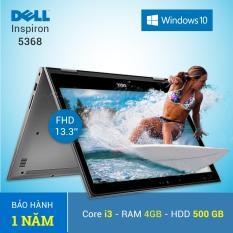 Bán Laptop Dell Inspiron 13 5368 I3 6100U 4Gb 500Gb 13 3 Inches Bạc Hang Nhập Khẩu Tặng Tui Xach Rẻ Hà Nội