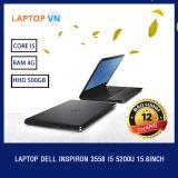 Laptop Dell Inspiron 3558 I5 5200U 15 6Inch Đen Hang Nhập Khẩu Rẻ
