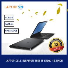 Cửa Hàng Laptop Dell Inspiron 3558 I5 5200U 15 6Inch Đen Hang Nhập Khẩu Dell Hà Nội
