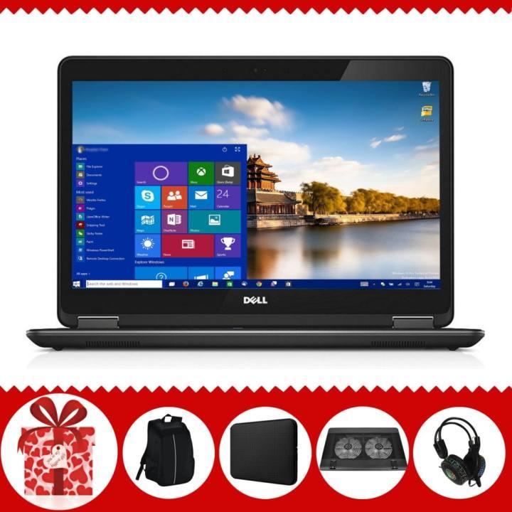 Laptop Dell Latitude 7440 ( i5-4300U, 14inch, 4GB, SSD 240GB ) + Quà Tặng - Hàng Nhập Khẩu