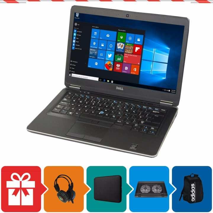 Laptop Dell Latitude 7440 ( i7-4600U, 14inch, 8GB, SSD 240GB, HDD 500GB ) + Quà Tặng - Hàng Nhập Khẩu