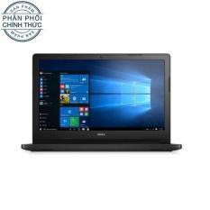 Laptop Dell Vostro 3568 XF6C61 Core i5 7200U Ram 4GB/1TB inch DVDRW (đen) - Hãng phân phối chính thức