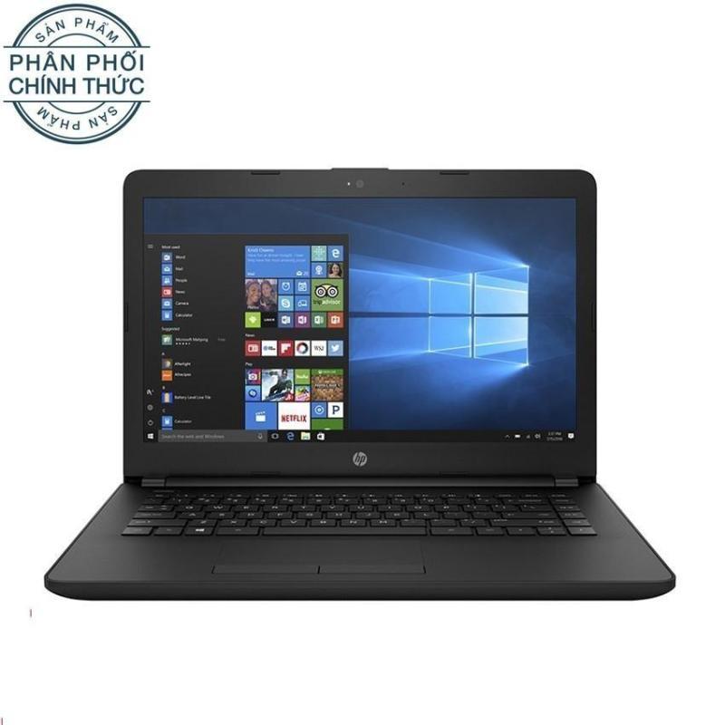 Laptop HP 14-bs561TU 2GE29PA Core P-N3710U Ram 500GB UMA 14.0 Dos (Đen) - Hãng phân phối chính thức