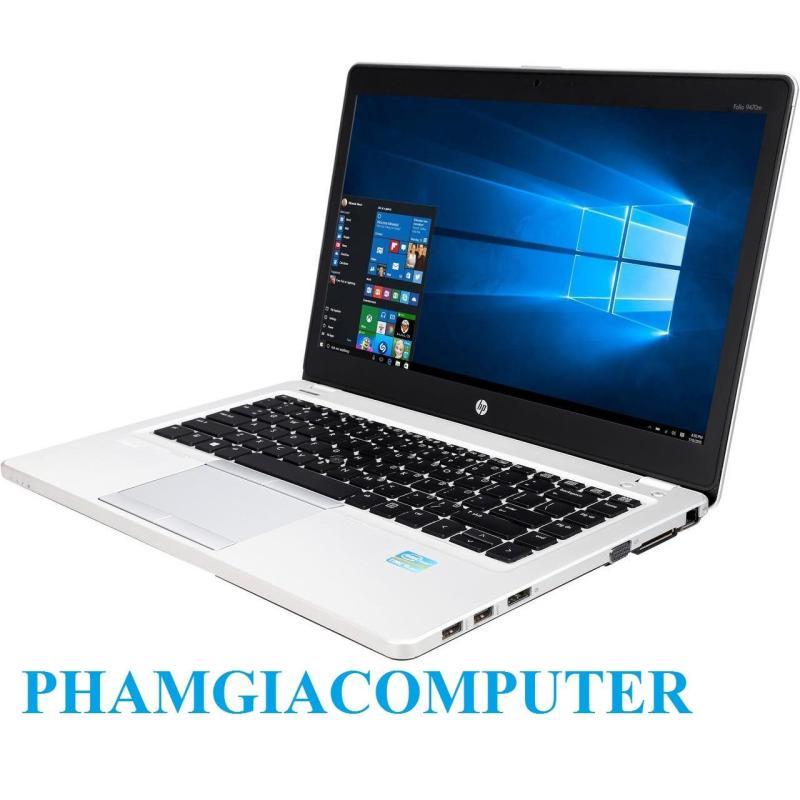 LAPTOP HP FOLIO 9470M Core i5 3427u Ram3 4G SSD 128G 14in Ultrabook siêu mỏng nhẹ 1.6Kg-Hàng nhập khẩu-Tặng Balo, chuột wireless