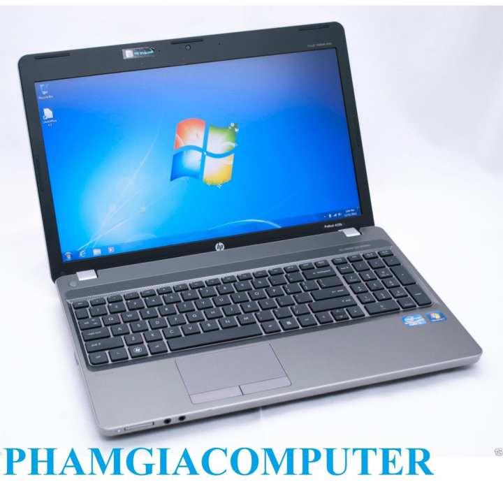 Laptop HP Probook 4530s Core i5 2xxx 4 nhân Ram3 4G Hdd 320G 15.6in Hợp kim Nhôm-Hàng nhập khẩu- tặng Balo Chuột wireless