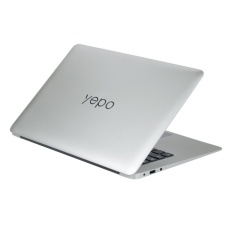 Hình ảnh Laptop Yepo 737T 14 inch ( bạc) Tặng Loa BlueTooth Charge Mini 3 và Chuột Không Dây Q1
