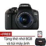 Giá Bán Le Bảo Minh May Ảnh Canon Eos 750D 24 2Mp Wifi Vớilenskit18 55Mmf3 5 5 6 Is Stm Đen Mới