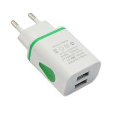 Hình ảnh ĐÈN LED USB 2 Cổng Tường Nhà Du Lịch AC Sạc Thông Minh Adapter HOA KỲ/EU Cắm Đa Năng-quốc tế