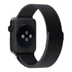 Hình ảnh leegoal Apple Watch Band Magnetic Clasp Mesh Loop Milanese Stainless Steel Replacement Strap For Apple Watch Sport Edition 42mm - intl