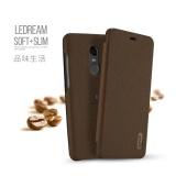 Bán Lenuo Ledream Dong Bao Da Pu Danh Cho Xiaomi Redmi Note 4X Nau Trực Tuyến Trong Trung Quốc