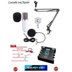 Giá Bán Loa Amply Hay Mua Karaoke Thu Am Live Stream Full Soundcard Xox K10 Mic Bm800 Gia Treo Bn35 Mang Lọc Am Full Cab Micro Gia Re Mới Nhất