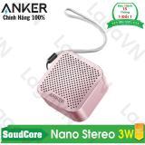 Loa Bluetooth Cao Cấp Anker Soundcore Nano Stereo Speaker Hồng Mới Nhất