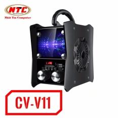 Giá Bán Loa Bluetooth Cao Cấp Vision Vsp Cv V11 Co Đen Led Hang Phan Phối Chinh Thức Nguyên