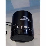 Loa Bluetooth Đa Năng Wster Ws 633Bt Đen Nguyên