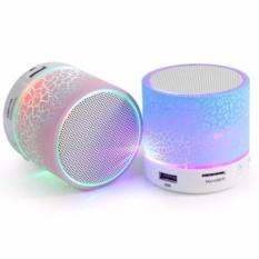 Hình ảnh Loa Bluetooth HLD-600 mini có đèn LED nháy theo nhạc cực sành điệu